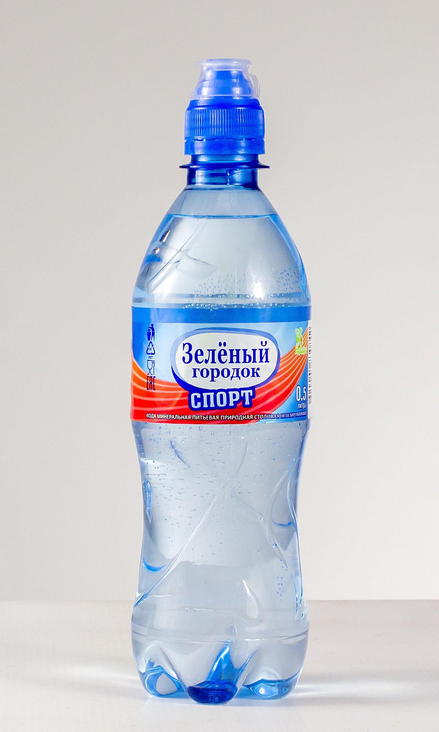 Вода минеральная питьевая природная столовая