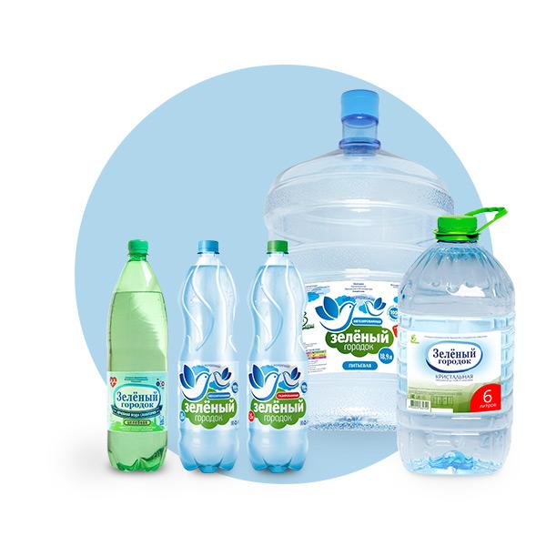 """Питьевая вода """"Зеленый городок"""""""