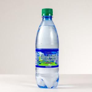 """Вода минеральная лечебно-столовая """"Зеленый городок целебная"""""""