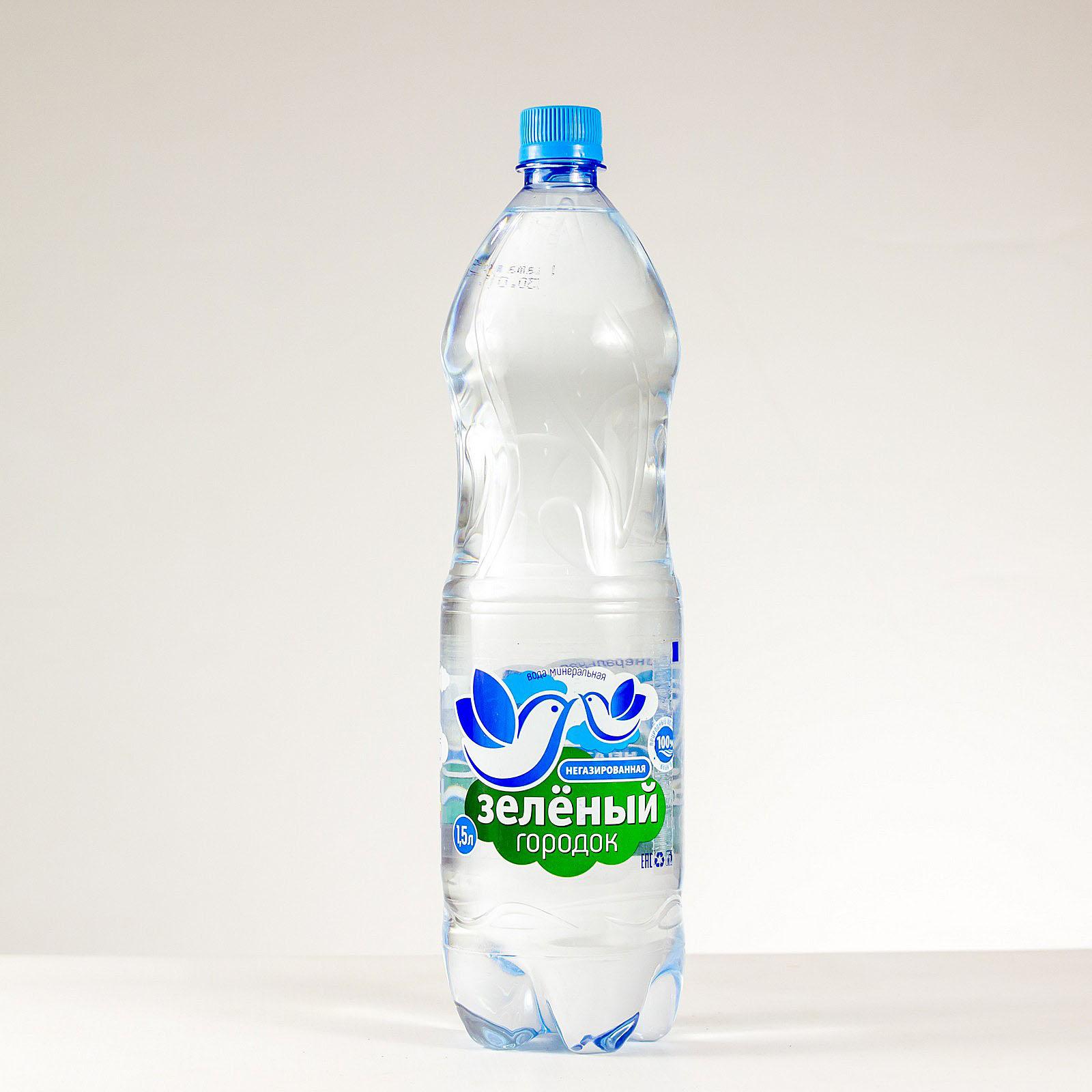 Вода питьевая Зеленый городок негазированная