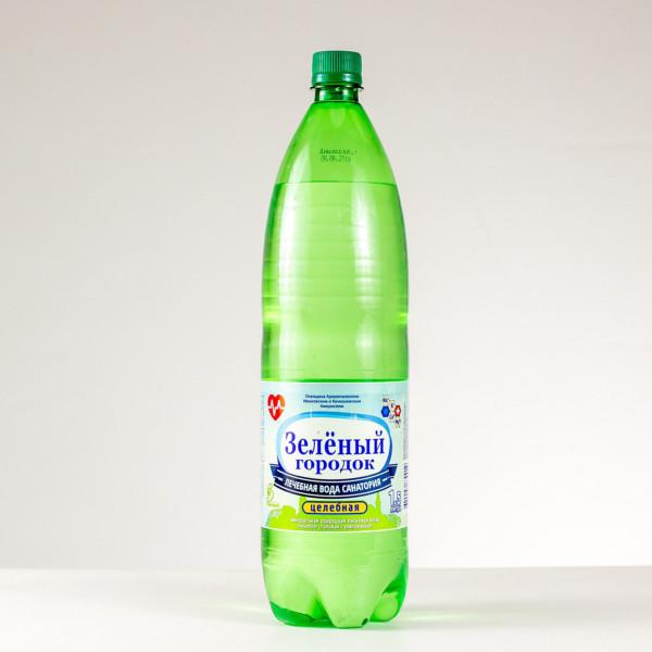 Вода минеральная лечебно-столовая Зеленый городок целебная