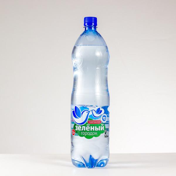 Вода питьевая Зеленый городок газированная